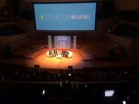 Startup Miami conference was held on March 31, 2014, at the New World Symphony.