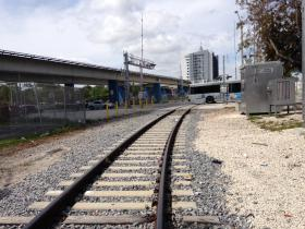 Grand Central Station to be: Part of the nine acres of track-side land in downtown Miami that would, again, become the hub for FEC passenger rail.