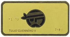 This was the membership card for an infamous club inside an infamous hotel frequented by cocaine cowboys in the 1980s.