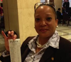 A MINIMUM WAGE SHOPPING TRIP: State Rep. Cynthia Stafford (D-Miami) says a minimum wage budget doesn't buy much healthy food. She'll be living on the state's lowest legal wage for a week.