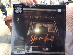 The reissue of Notorious B.I.G. limited edition for Record Store Day 2014.
