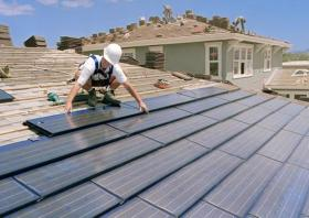 Homes and businesses using solar panels like these were eligible for rebates under a state program that ended in 2010.