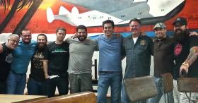 Members of the Miami Brewers Alliance held their first meeting at Wynwood Brewing Company on May 19.