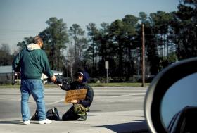 Delray Beach may join other South Florida cities in cutting down on panhandling.