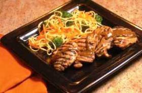 Korean Grilled Chicken with Steamed Noodles