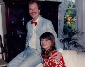 A photo of Neil and Alyce Robertson taken around the time of their harrowing I-95 tale.