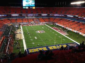 Hosting a college football championship game, like the 2013 game between Alabama and Notre Dame, will mean $3 million in hotel tax money for the Miami Dolphins. It's part of a deal between the team and Miami-Dade County to renovate Sun Life Stadium.