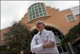 Dr. Stephen Nimer, photographed on Wednesday March 7, 2012 is the director of UM's Sylvester Cancer Center.