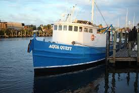 The Aqua Quest before it was impounded last month on Honduras' Miskito Coast