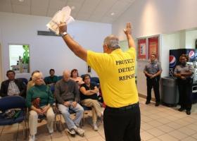 Gustavo Franco, of Senior Medicare Patrol, warns seniors of Medicare fraud.