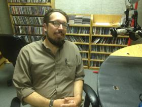 Journalist Nathan Deuel chatted with WLRN about fatherhood, the Middle East and Miami.