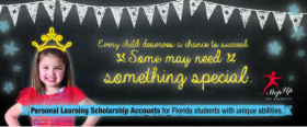 An advertisement for the new scholarship programs.