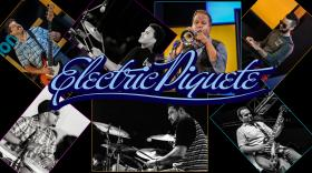 Electric Piquete members: Ed Rosado, Michael Mut, Chris Core, Rich Dixon, Raymond Ayala and Pepe Montes.