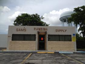 The foreclosed plumbing store will be renovated to be FAU's urban studio.