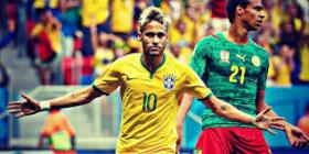 ROLE MODEL: Neymar before his World Cup injury