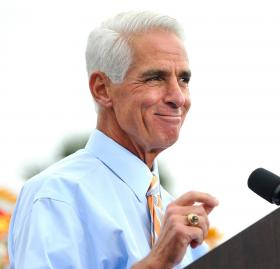 Charlie Crist announced Miami-Dade Democratic Party chair Annette Taddeo-Goldstein will be his running mate.