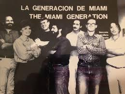 """The Miami Generation"" of Cuban-exile artists in 1983."