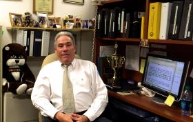 Armando Penedo now runs the school crossing and educational programs with the Miami-Dade police department.