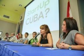 Visiting Cuban entrepreneurs speak at Miami Dade College this month.