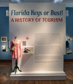 The exhibit will be on display at the Custom House Museum in Key West until Oct. 1.