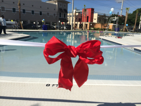The pool in South Miami will be open from 10:30 a.m. - 4:30 p.m. Saturdays through Wednesdays.