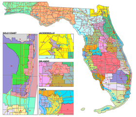 The redistricting process began Thursday in Tallahassee.