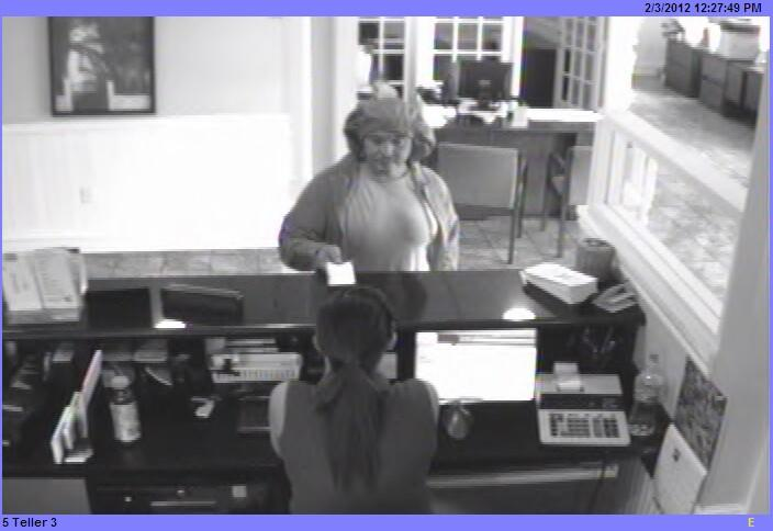 Shorts on the head of a Key West bank robber.