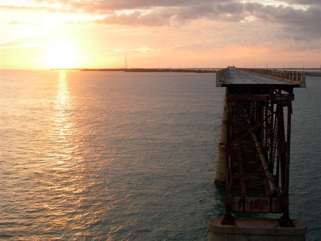"The old Bahia Honda bridge was built over Flagler's Railroad, which was sometimes called ""Flagler's Folly"" because it was such a crazy idea at the time."