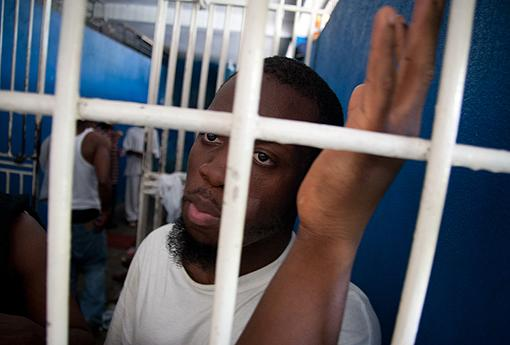 Franco Coby spent a week in a Port-au-Prince jail after being deported to Haiti.