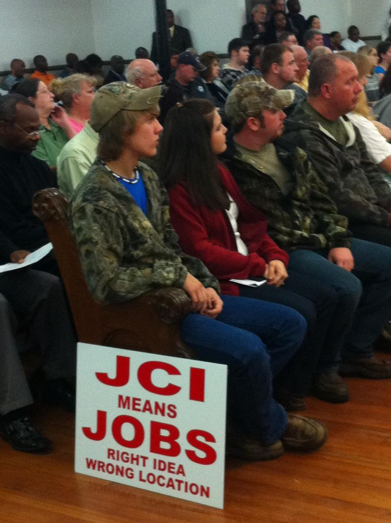 In Monticello, jobs are on the line.