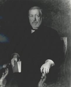 James G. Blaine, a former Speaker of the U.S. House of Representative.