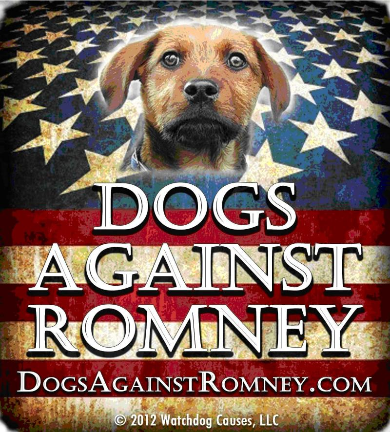 "The Spokesdog Speaks: Romney is ""one scary individual"""