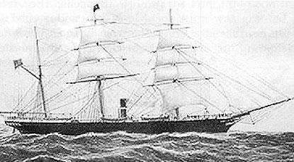 The Erl-King sank at Long Reef in 1891.