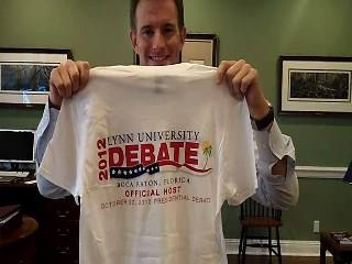 Lynn University President Kevin Ross learned his school was a finalist to host the presidential debate last fall.