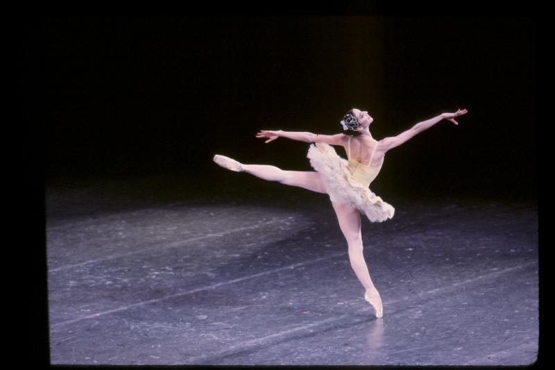 Lourdes Lopez performing in the ballet 'Divertimento.'