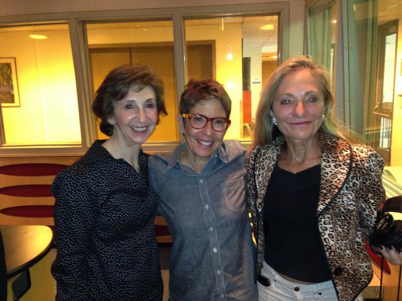 Linda, Hedy Goldsmith, and Bonnie Berman after the show.