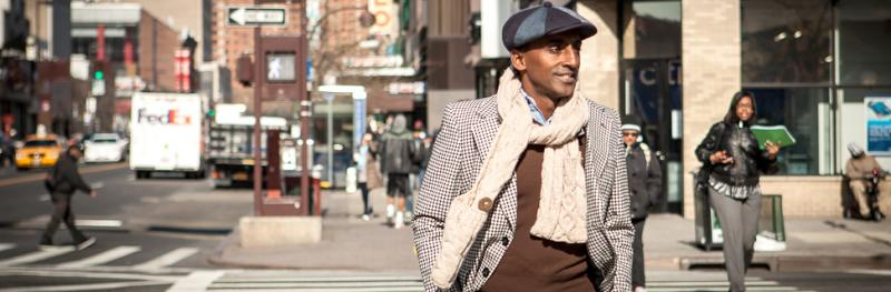 Marcus Samuelsson in Harlem, New York.