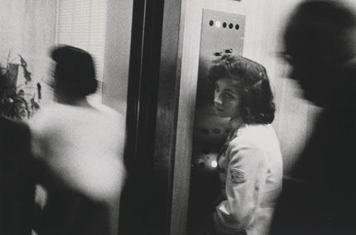 Robert Frank (American, b. Switzerland, 1924) Elevator—Miami Beach, 1955