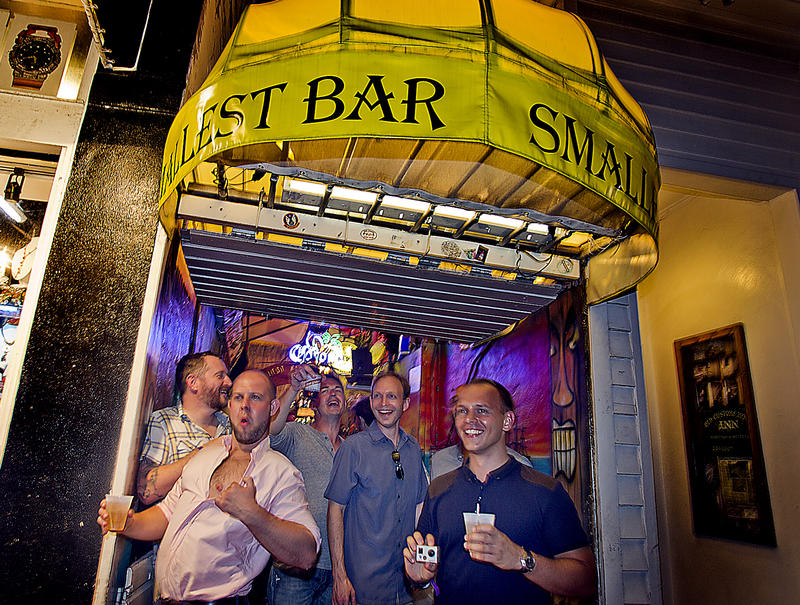 "Key West's ""Smallest Bar"" is 72-square-feet of cash-only drinks and customer abuse"