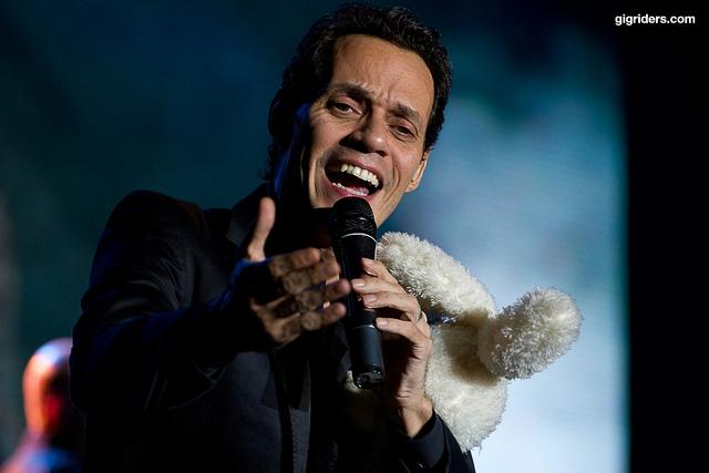 Marc Anthony and fellow South Floridians are some of the big donors to the Obama and Romney campaign.