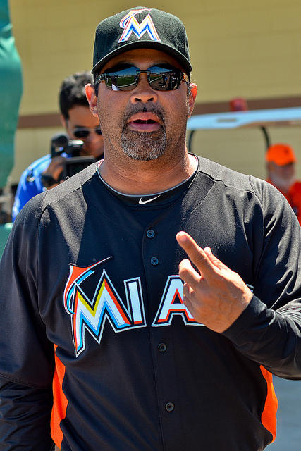 Guillen, the Miami's Marlins coach has been fired after just one season.