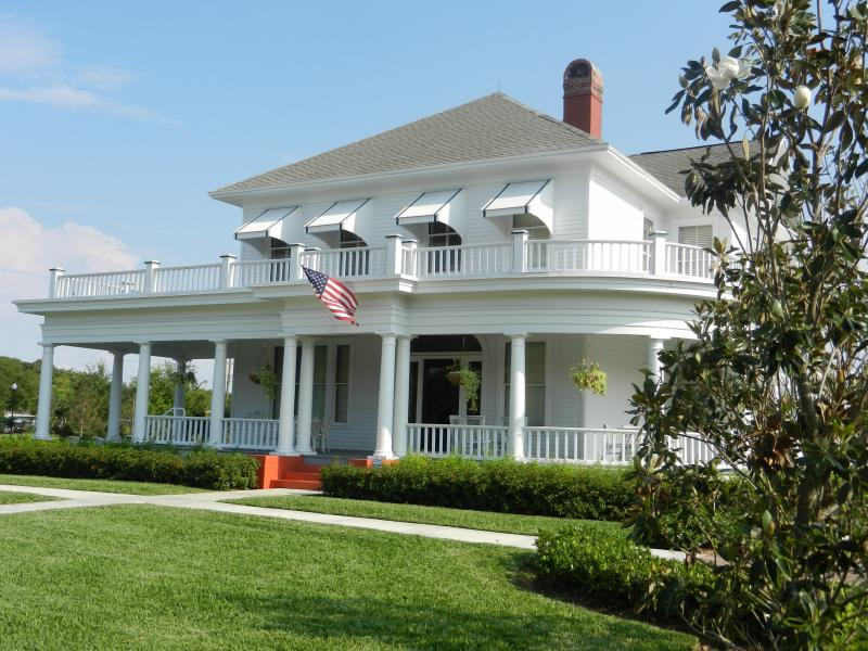 The Sample-McDougald House at its new location on 4 acres of City of Pompano Beach property, 2012.