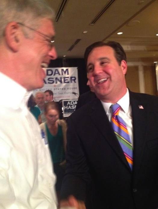 Adam Hasner lost the race for Florida's 22nd Congressional District.