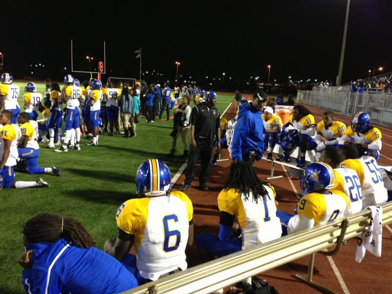 Star Power: Hip-hop icon Luther Campbell is the defensive coordinator for Miami Northwestern.