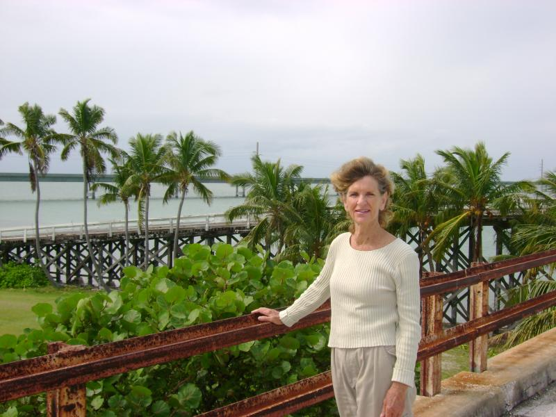 Riet Steinmetz is working to preserve both the Old Seven Mile Bridge and Pigeon Key.