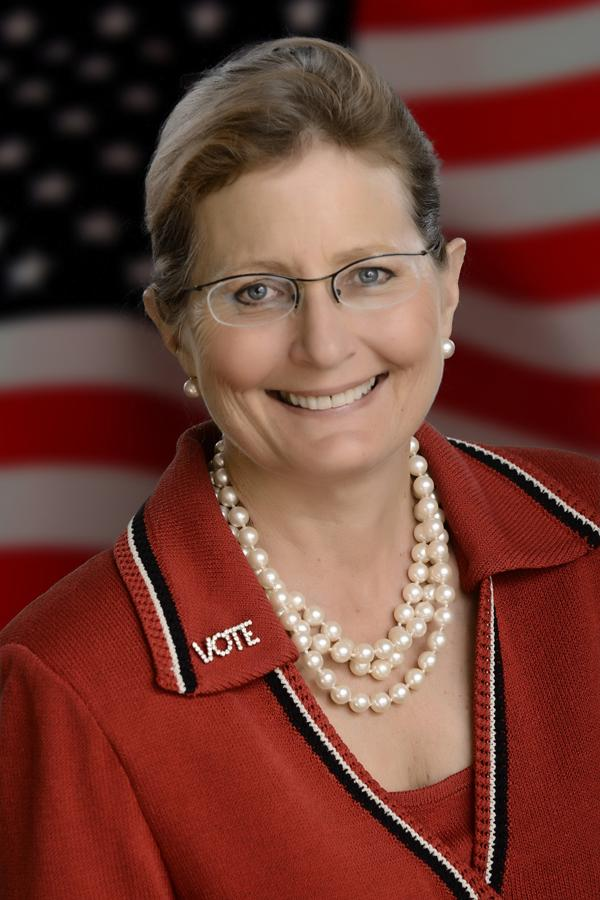 Deirdre Macnab, President of the League of Women Voters of Florida