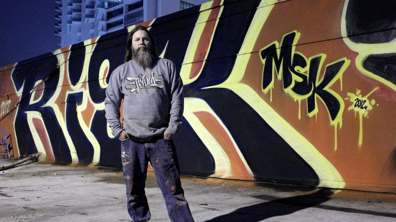"Kelly ""RISK"" Graval of Risk Rock Studios, Los Angeles"