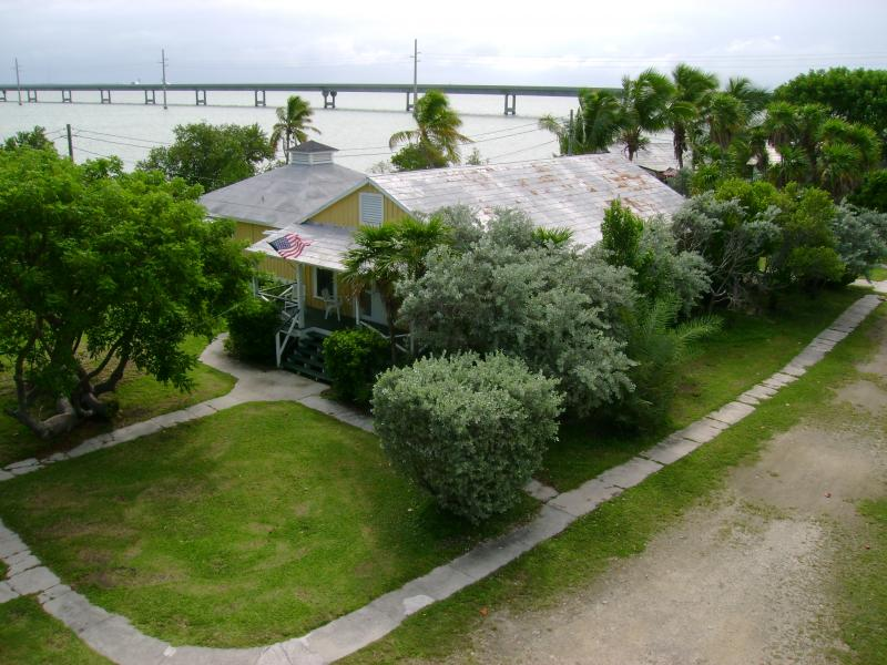 Pigeon Key is a small, five acre island that housed up to 400 workers at a time.  There was very little to do on Pigeon Key except work. Riet says workers didn't learn until they arrived that alcohol was not allowed.