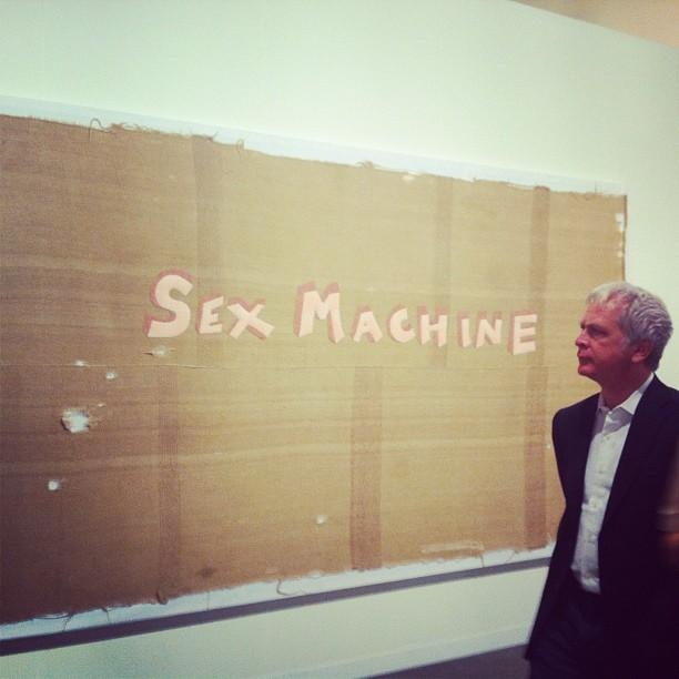 Sex Machine: The art frames the audience at Art Basel.