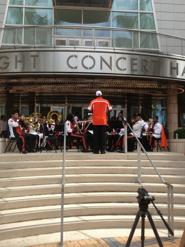 Carol City High School Band at the Adrienne Arsht Center of the Performing Arts
